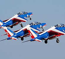 Patrouille De France by Mike Rivett