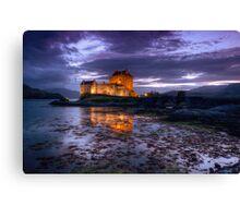 Eilean Donan Castle at night Canvas Print