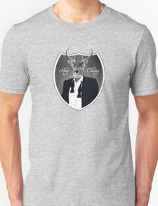 Deer in tuxedo T-Shirt