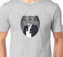Deer in tuxedo Unisex T-Shirt