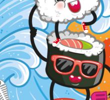 Sushi is a balanced diet Sticker