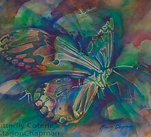 Watercolour: Butterfly Coterie by Marion Chapman