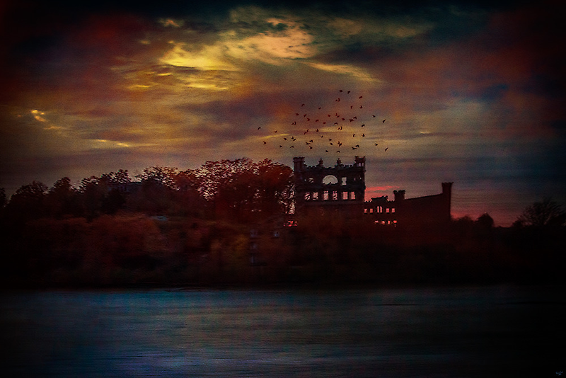 Bannerman Castle Ruins by Chris Lord