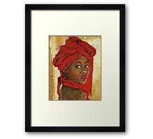 Black Lady No. 12 Framed Print