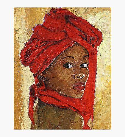 Black Lady No. 12 Photographic Print