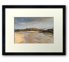 Gwithian and Godrevy Cornwall Framed Print