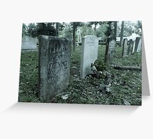 Fleming Ancestory Artistic Photograph by Shannon Sears Greeting Card