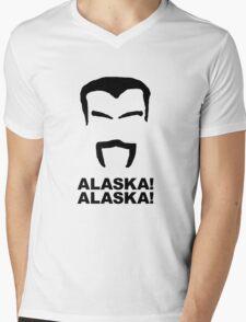 ALASKA ALASKA Mens V-Neck T-Shirt
