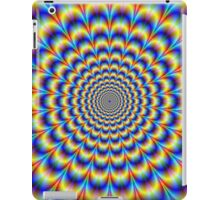 Psychedelic Pulse in Blue and Yellow  iPad Case/Skin