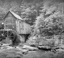 The Glade Creek Grist Mill  by Rose Cavaco