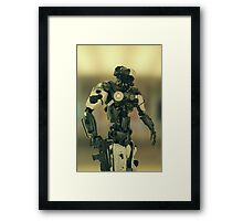 CyberCop - The Future of Law Enforcement Framed Print