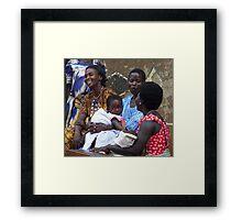 Kitgum Mothers, Uganda Framed Print
