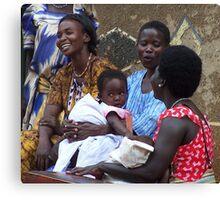 Kitgum Mothers, Uganda Canvas Print