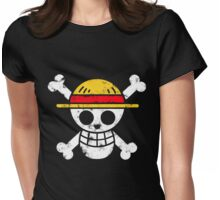 Strawhat Jolly Roger Womens Fitted T-Shirt