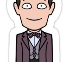 The Eleventh Doctor (sticker) Sticker
