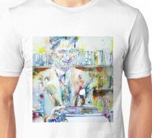 GEORGE ORWELL - watercolor portrait Unisex T-Shirt