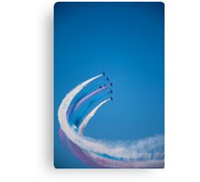 Red Arrows on display Canvas Print