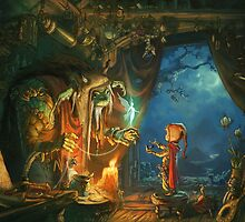 The Troll and the Boy by Emil Landgreen