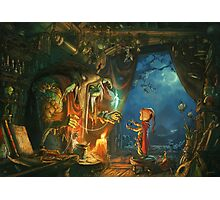 The Troll and the Boy Photographic Print