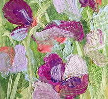 Sweet Peas by KeLu