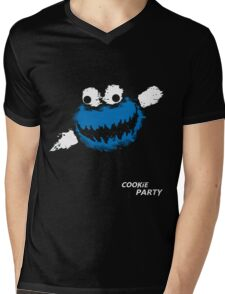 Cookie Party Mens V-Neck T-Shirt