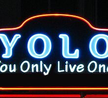 YOLO You Only Live Once  by Tom Conway
