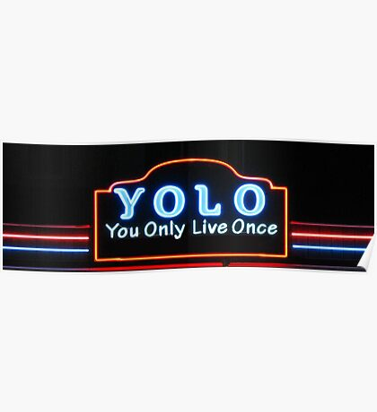 YOLO You Only Live Once  Poster