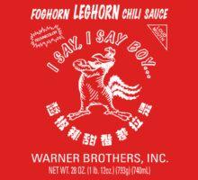 Foghorn Leghorn Sauce (White) by Gingerbredmanny