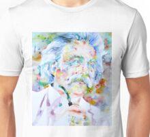 MARK TWAIN - watercolor portrait Unisex T-Shirt