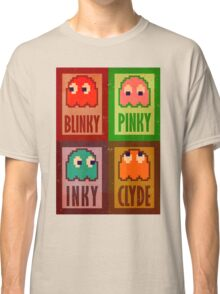Blinky, Inky, Pinky and Clyde Classic T-Shirt