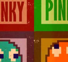 Blinky, Inky, Pinky and Clyde Sticker