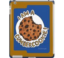 Cumbercookie of the Cumberbatch! iPad Case/Skin