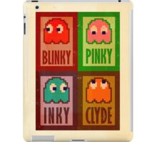Blinky, Inky, Pinky and Clyde iPad Case/Skin