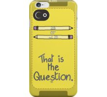 2B, or not 2B? iPhone Case/Skin
