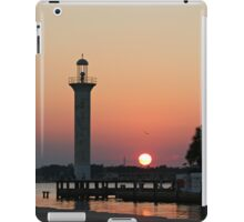 Sunset at The Old Lighthouse iPad Case/Skin