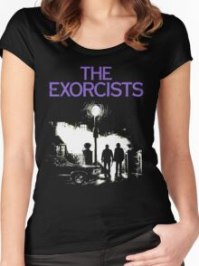 The Exorcists (Supernatural & The Exorcist) Women's Fitted Scoop T-Shirt