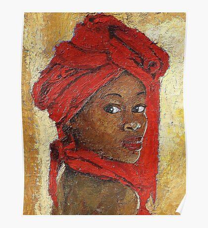 Black Lady No. 12 Poster