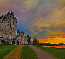 Ireland. Killarney. Ross Castle. by vadim19