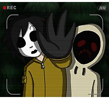 Marble Hornets Photographic Print