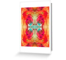 Charmed - Abstract Art By Sharon Cummings Greeting Card