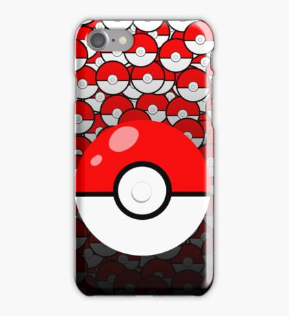 Pokeball themed iPad/iPhone case iPhone Case/Skin