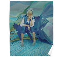 Self-Portrait,Peggy's Cove 001 Poster