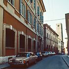 Street of Ravenna Italy 198404140055 by Fred Mitchell