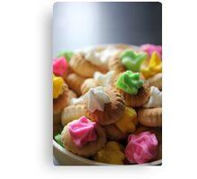 Ice Gem Biscuits III Canvas Print