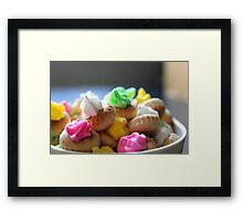 Ice Gem Biscuits II Framed Print