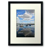 Lake Harriet Reflections Framed Print