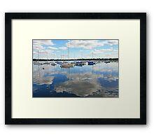 Lake Harriet Reflections2 Framed Print