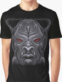 Demon Head Graphic T-Shirt
