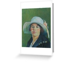 Grandmother in pastels Greeting Card