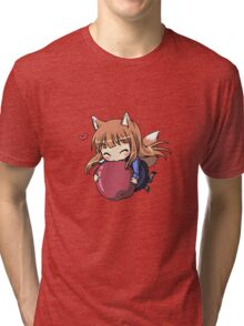 Holo the apple Lover! Tri-blend T-Shirt
